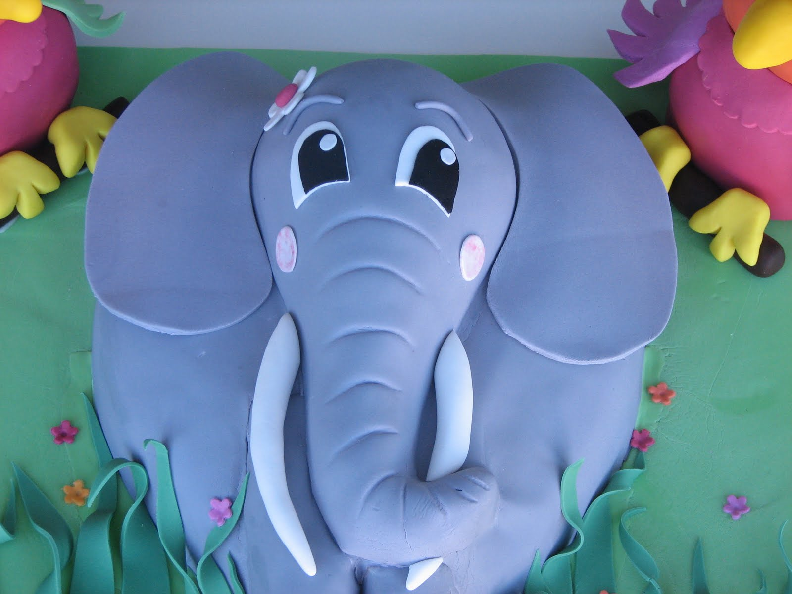 Images Cake Elephant : Sugar Creation: Elephant cake