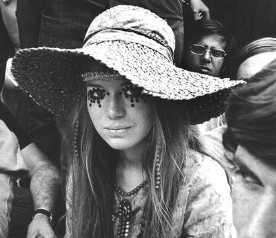 Hippie Girl wants to change the world