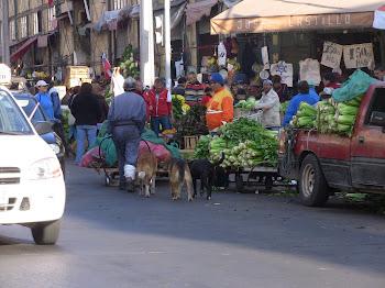 le marché de Valparaiso