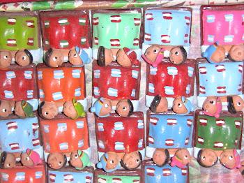 figurines de voeux de bonheur chiliennes