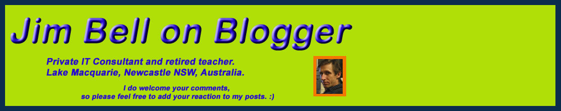 Jim Bell on Blogger