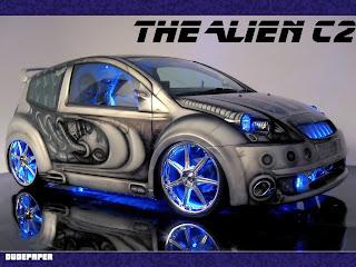 Alien C2 Car || Top Wallpapers Download .blogspot.com