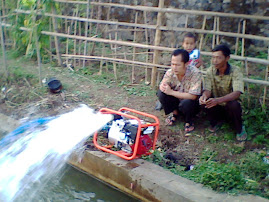 Tes mesin Pompa air