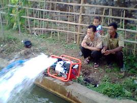 Tes mesin Pompa air