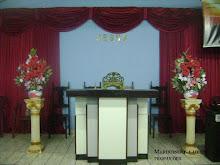 O centro da igreja é Jesus Cristo