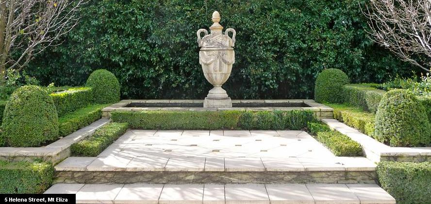 White Floors: Andrew Stark Garden Design .New Website ..Great