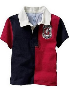 Gap Polo T-Shirt (Red)