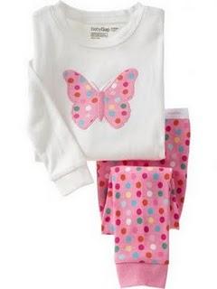 Gap Pyjamas (Butterfly)