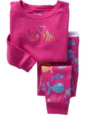 Gap Pyjamas (Kissing Fish)