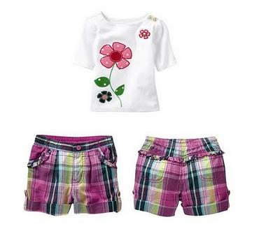 Gap Short & Shirt Set