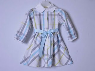 Burberry Dress (Blue)