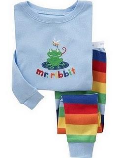Gap Pyjamas (Mr Ribbit)