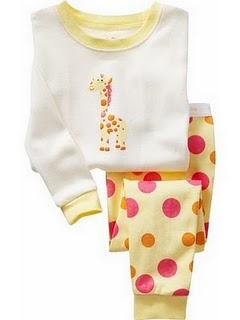 Gap Pyjamas (Giraffe)
