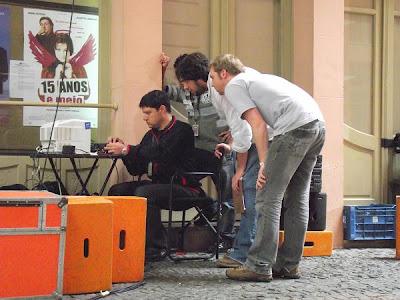 making of Accorde Filmes e clip Somehow de Ed Napoli