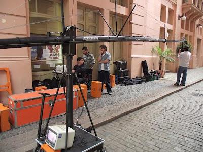 making of na Casa de Cultura Mário Quintana