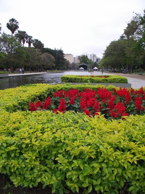 Parque da Redenção, Porto Alegre, Rio Grande do Sul, Brasil, primavera, nublado, flores, Fujifilm, FinePix, S1800