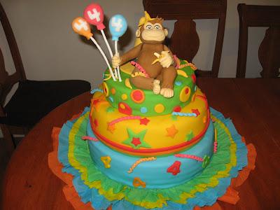 Fiesta Hermosa: Tortas decoradas de Jorge el Curioso