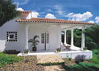 Viver e morar bem fachadas de casas for Fachadas de casas estilo americano