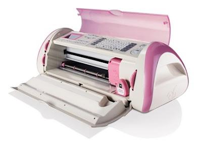Scrapbook Boutique New Product Pink Cricut Expression