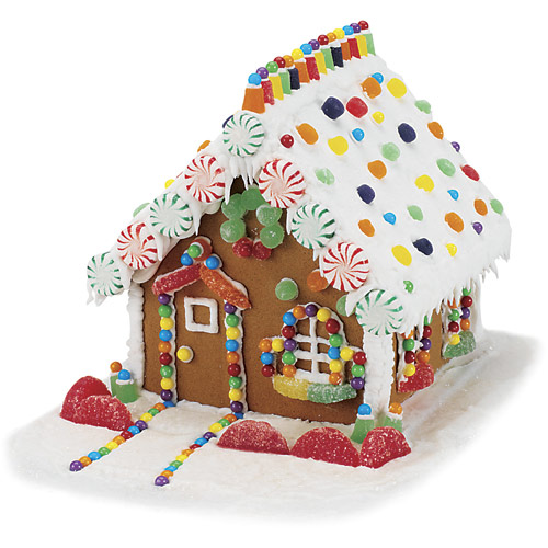 Eclectic georgia make your own gingerbread house for How do you make a gingerbread house