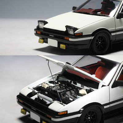 Japan Exclusive AutoArt 1/18 AE86 Initial D ver.