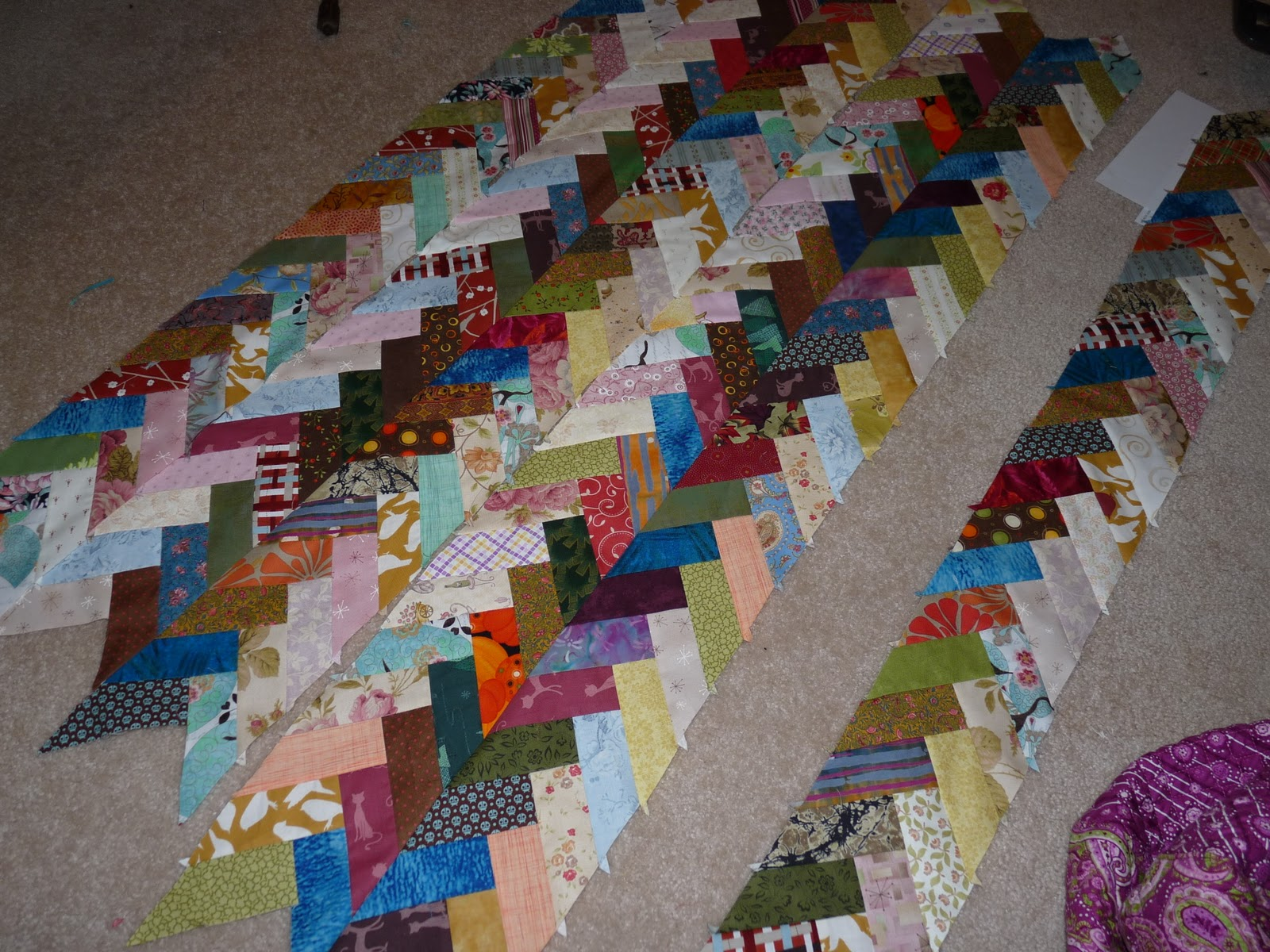 Feeling simply quilty making scrap quilts is like seeing for Scrap quilt