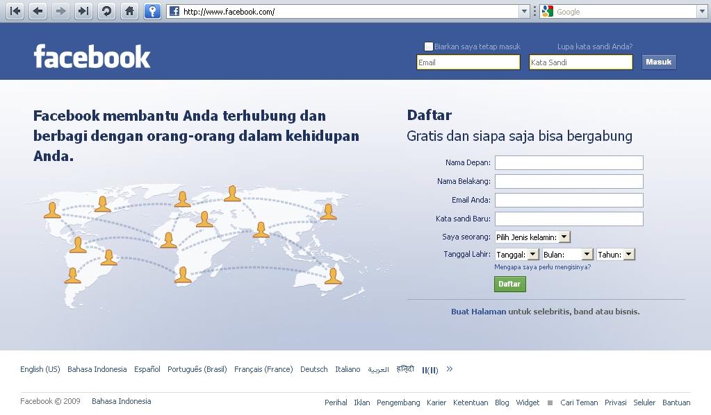 facebook login deutsch