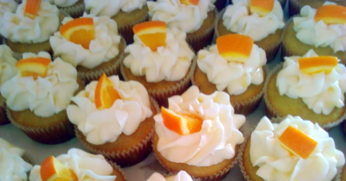 ... Cupcake Monday: Mimosa Cupcakes and a Delicious Strawberry Topped