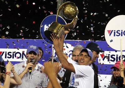 Libertad Campeón Torneo Clausura 2010