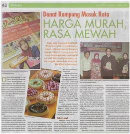 Donat Kampung Jombang di Tabloid NOVA, Edisi Terbaru, 26 Januari 2009
