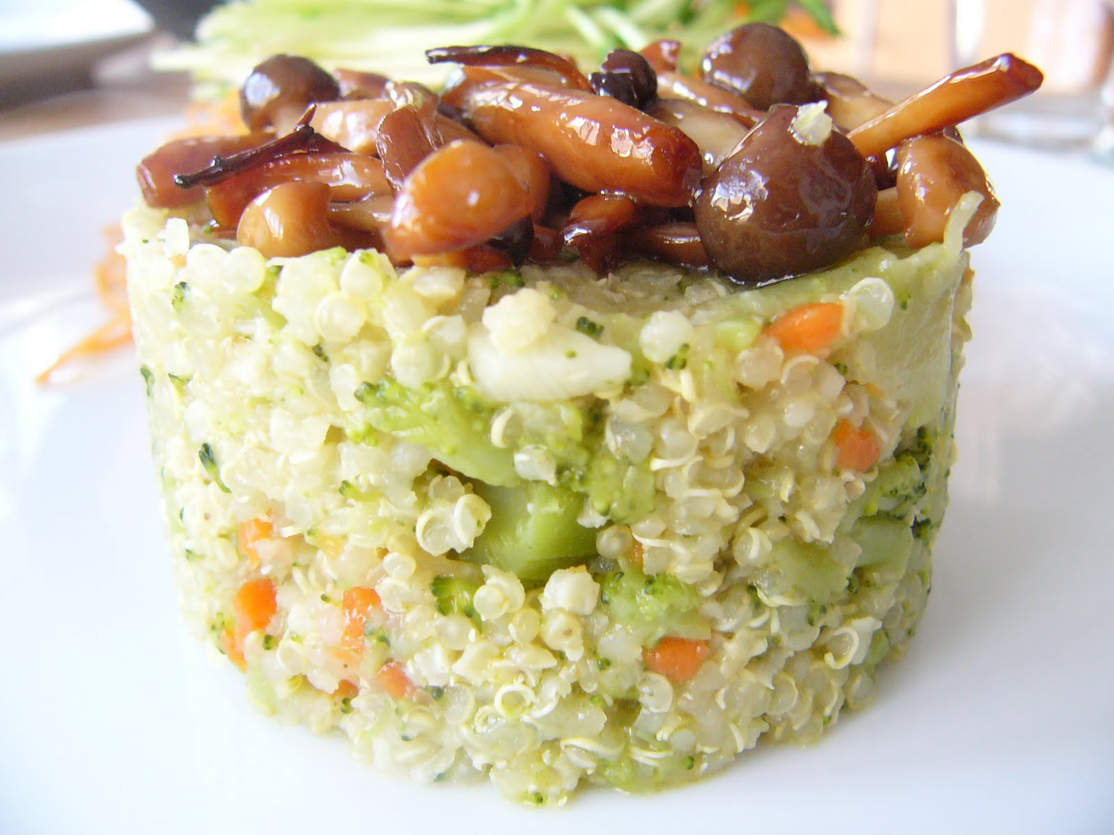 Mushroom And Broccoli Pilaf Recipe — Dishmaps