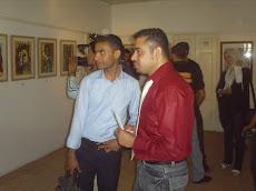 صور افتتاح معرض ( أربع  جدران )  فى غزة