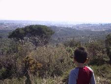 Sabadell y Sant Quirze desde El Pino