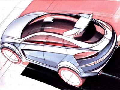 2005 Scion T2b Concept. Mitsubishi Concept-Sportback