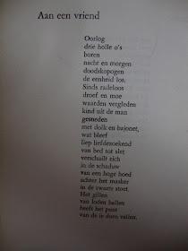 Zijn gedicht oma Oma's en