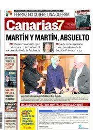 Declaraciones de Aminetu a su llegada a Las Palmas