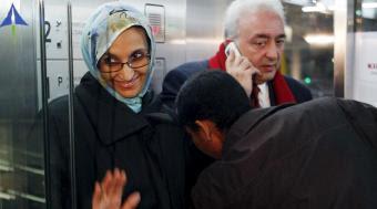 Haidar llega a Madrid para someterse a una revisión médica