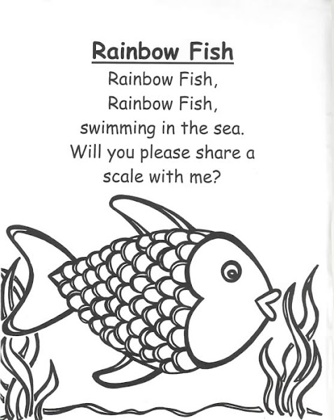 Children Rainbow Fish Poems