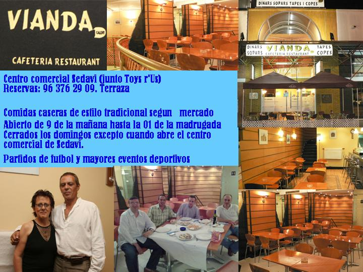 CAFETERIA VIANDA EN CENTRO COMERCIAL SEDAVI
