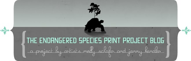 The Endangered Species Print Project Blog :  Biodiversity &amp; Art,