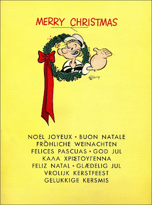 Merry Xmas from Popeye