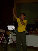 Cantando na Formatura do Proerd
