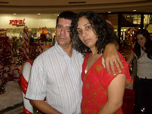 Com a esposa Simone no Shopping Flanboyant