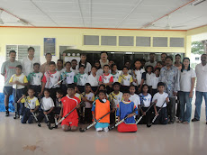 Launch Of Junior Hockey Team Sg Choh