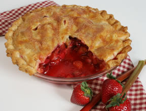 strawberry special russian pie