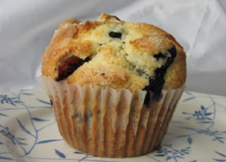 blueberry muffin dessert pic