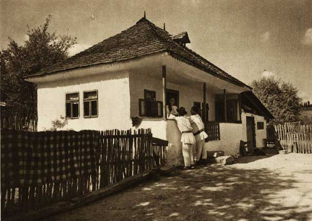 Casa taraneasca in secolul al XX-lea