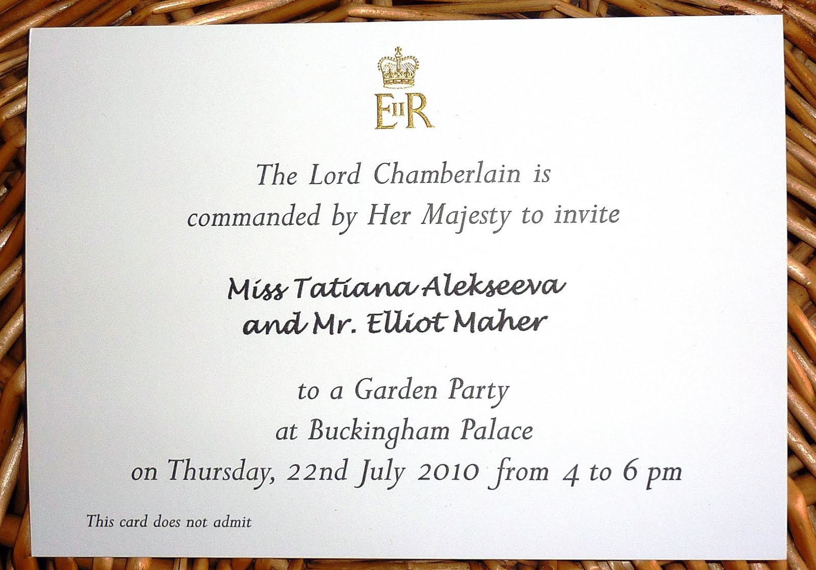 Royal peanut butter cups tanyas invitations are not transferable due to a limited number of invitations available the royal garden party may only be attended once now imagine my stopboris