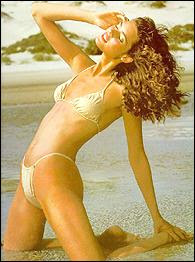 Carol Alt sexy and hottest model of her time has pictured herself for