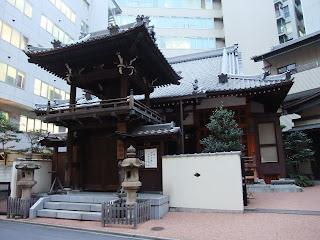 名古屋駅近くのお寺